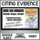 Citing Evidence BUNDLE Who Would Win? Nonfiction Response