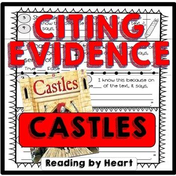 Citing Evidence Reading Response CASTLES Usborne