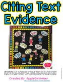 Citing Text Evidence Kids
