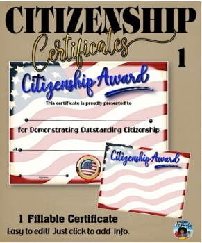 Citizenship Award #1