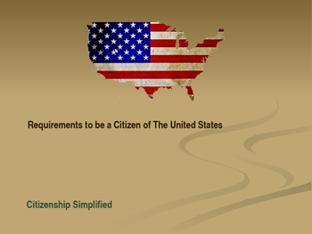Citizenship - Requirements to Be a Good Citizen - Citizens