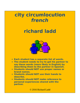 City Circumlocution FRENCH