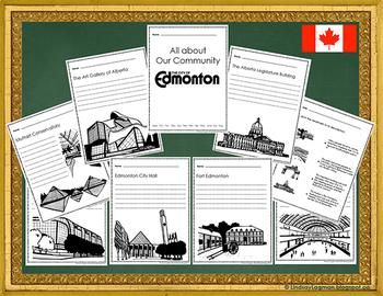 City of Edmonton Community Landmark Workbook