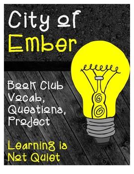 City of Ember Book Club (Teacher Guide, Vocabulary, Studen
