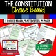 Civics Choice Board BUNDLE with Activity Pages (Paper & Go