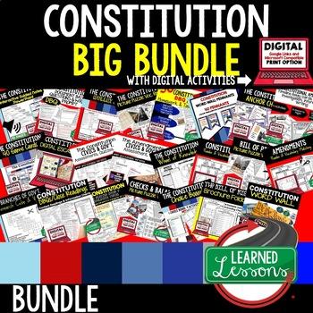 Civics Constitution BIG BUNDLE  (Civics and Government Bundle)