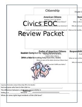 Civics End of Course Review Packet