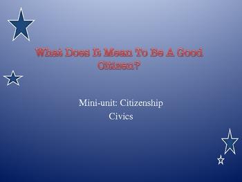 Civics - Powerpoint on Citizenship Process