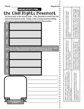 Civil Rights Movement - 3 Different Timelines