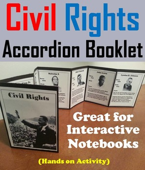 Black History Month Foldable: Civil Rights Movement: Marti