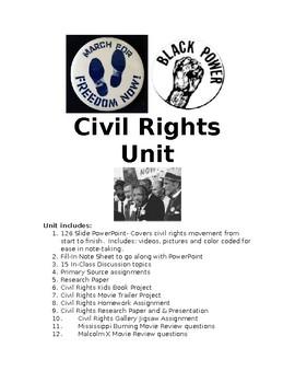 Civil Rights Bundled Unit