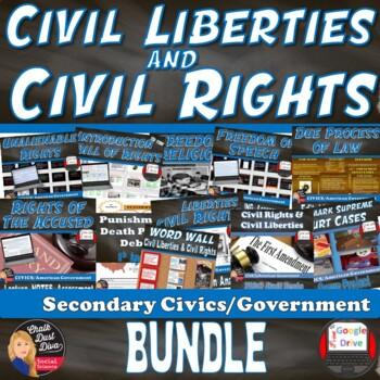 Civil Rights – Civil Liberties BUNDLE (CIVICS)