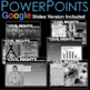 Civil Rights Movement Unit - PPTs w/Video Links, Primary S
