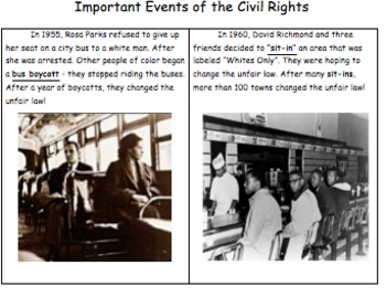 Civil Rights Event Connections