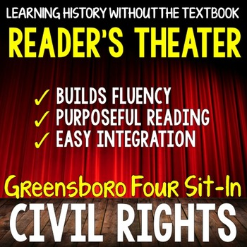 Civil Rights: Greensboro Four Sit-In Reader's Theater