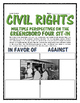 Civil Rights - Greensboro Four Sit-in (Reading, Photo & Wr