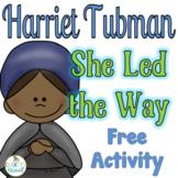 Civil Rights Leaders Free Sample; Harriet Tubman  #kindnessnation