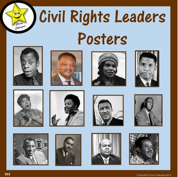 Civil Rights Leaders (Posters)