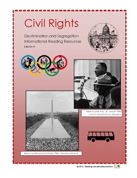 Civil Rights Lesson 6 - Discrimination and Segregation
