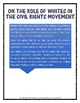 Civil Rights - Martin Luther King and Malcolm X - Ideas (C