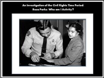 Civil Rights Movement Activity:  Rosa Parks/Bus Boycott Te