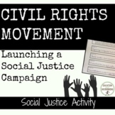 Civil Rights Activities for today - great for social justi