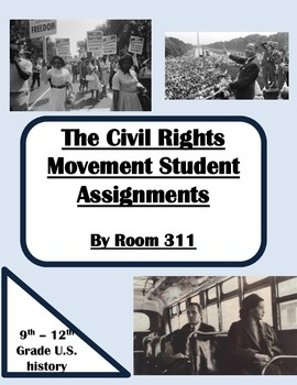 Civil Rights Movement Student Assignments