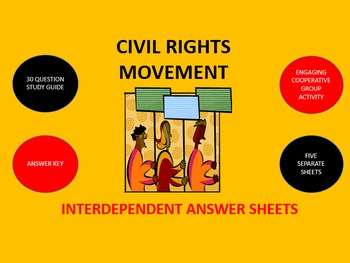 Civil Rights Movement: Interdependent Answer Sheets