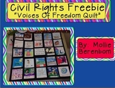 Civil Rights Quilt:  FREEBIE