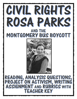 Civil Rights - Rosa Parks (Reading, Primary Sources, Proje