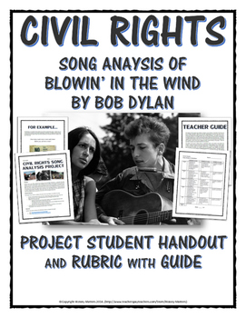 Civil Rights - Song Analysis Project (Blowin' in the Wind