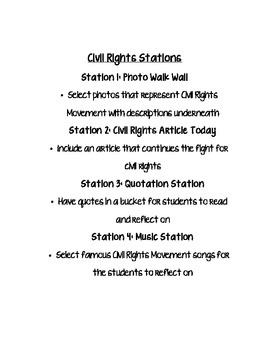Civil Rights Stations