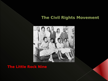 Civil Rights & The Little Rock Nine