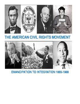 High School Civil Rights Unit - Black History & U.S. Histo