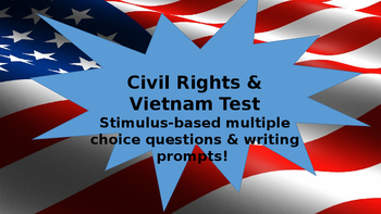 Civil Rights & Vietnam Test