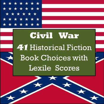 Civil War Books - 41 Historical Fiction Book Choices with