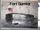 Civil War - Battle of Fort Sumter