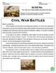 Civil War Battles - Bull Run, Antietam, Gettysburg, Appoma