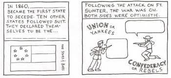 Civil War Cartoon Summary
