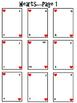 Civil War Deck of Cards Project--No PREP!