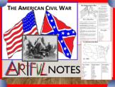 Civil War Doodle Notes