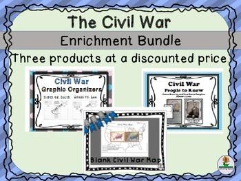 Civil War Enrichment BUNDLE