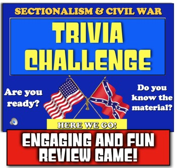 Civil War Trivia Challenge! Play review game on Sectionali