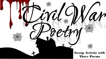 Civil War Poetry Analysis Activity
