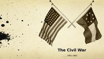 Civil War PowerPoint - APUSH New Curriculum Framework - Period 5