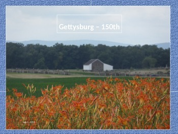 Civil War PowerPoint Series-Gettysburg Scenes