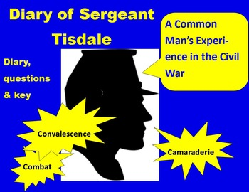 Civil War Primary Sources:  Diary of Sergeant Tisdale (wit