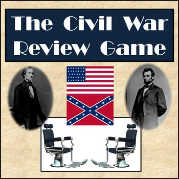 Civil War Review Game - Partner Activity in Front of Class