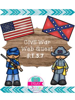 Civil War Web Quest