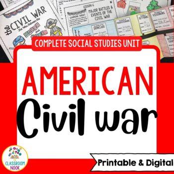 Civil War and Reconstruction {Complete Social Studies Unit